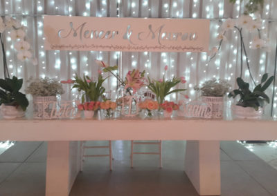 Venue decorations
