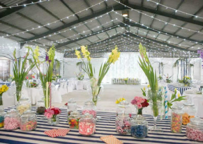 Venue decortations
